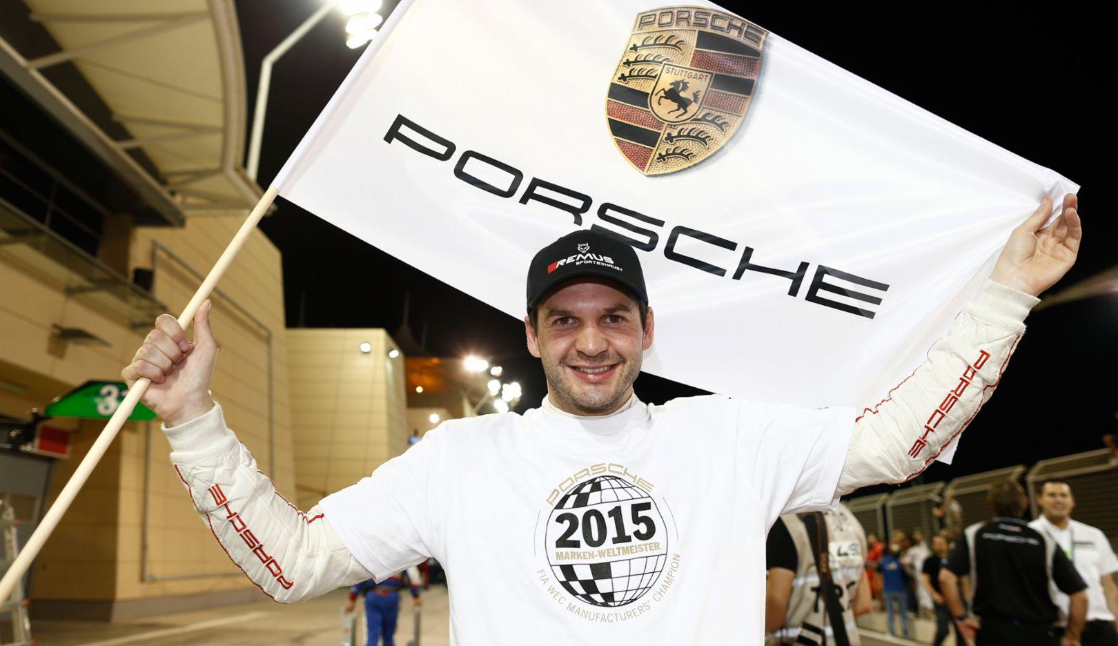 Richard Lietz, 2015, Porsche AG