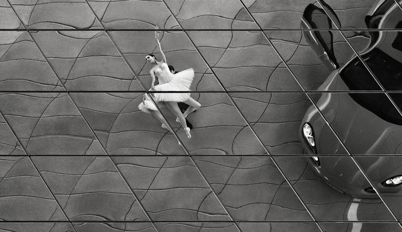 Alicia García Torronteras, ballet dancer, John Cranko School, Porsche-Museum Stuttgart, 2014, Porsche AG