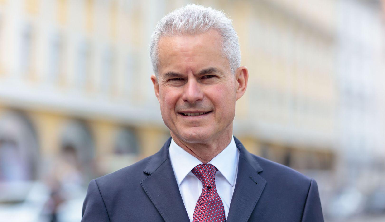 Eberhard Weiblen, Vorsitzender der Geschäftsführung von Porsche Consulting, 2016, Porsche Consulting GmbH