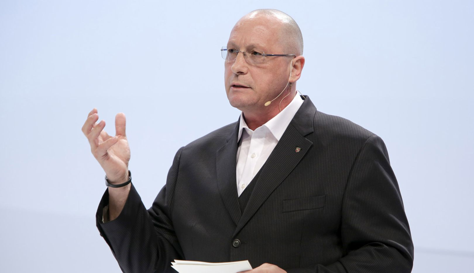 Uwe Hück, Chairman of the Group Works Council, 2015, Porsche AG