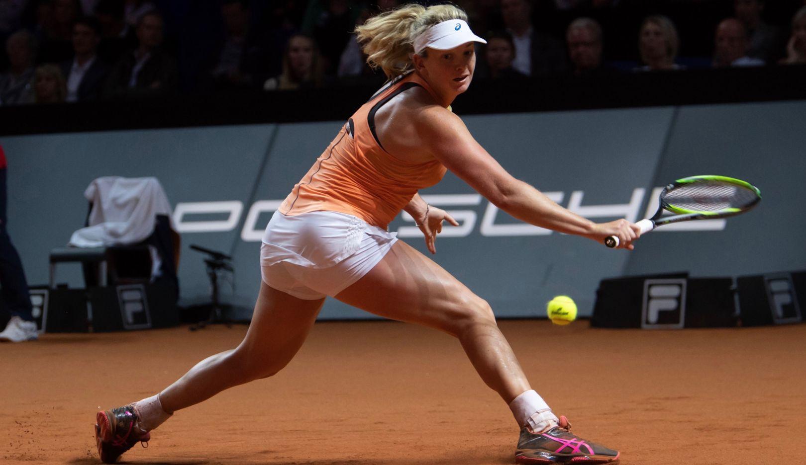 Coco Vandeweghe, Porsche Tennis Grand Prix, Tag 8, Stuttgart, 2018, Porsche AG