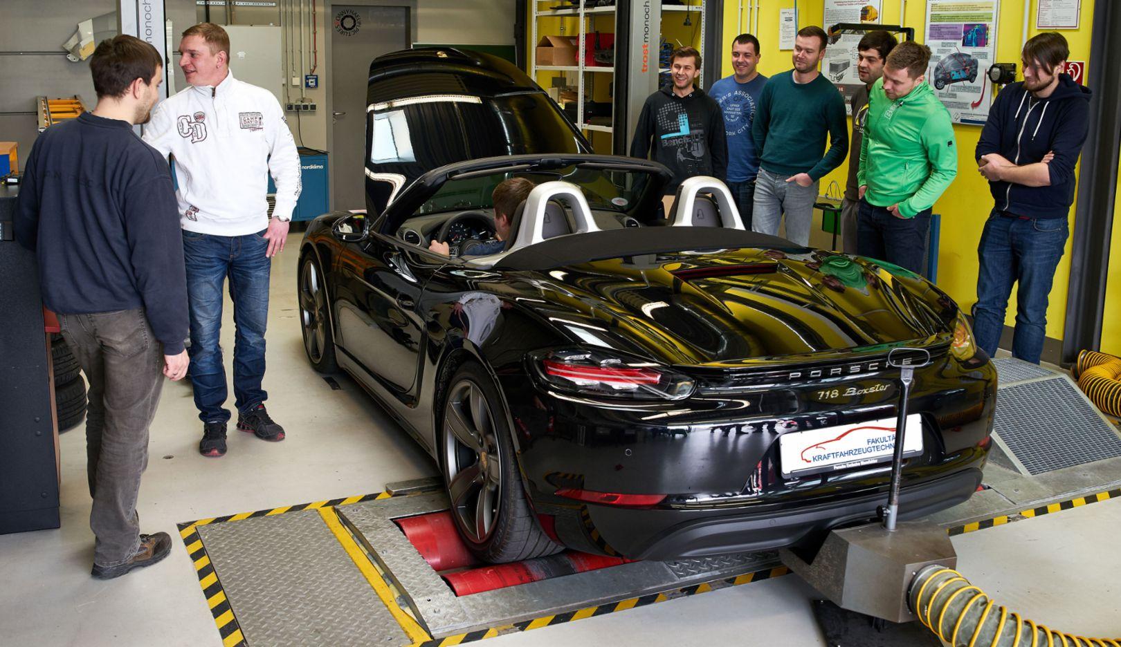 718 Boxster, Westsächsische Hochschule Zwickau, 2017, Porsche AG