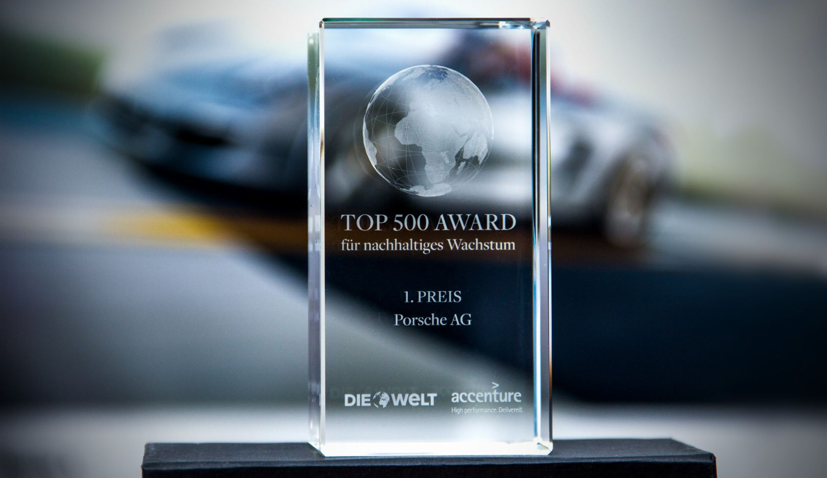 Top-500-Award, Porsche AG, 2015