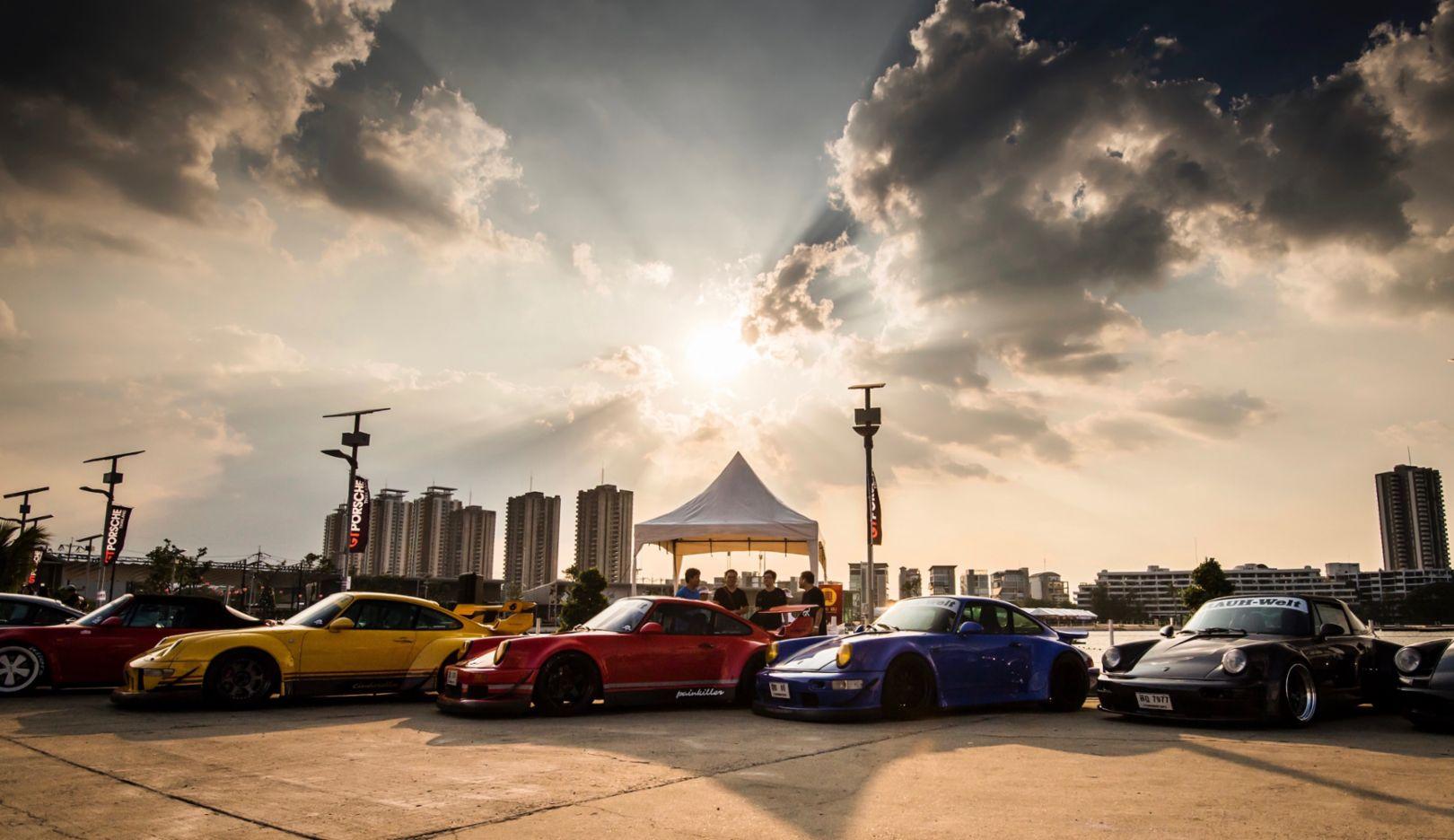 Das Treffen, Thailand, 2018, Porsche AG