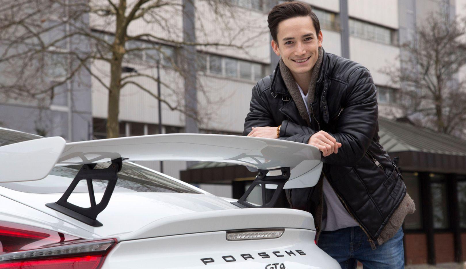 Marcel Nguyen, Porsche Brand Ambassador, Zuffenhausen, 2016, Porsche AG