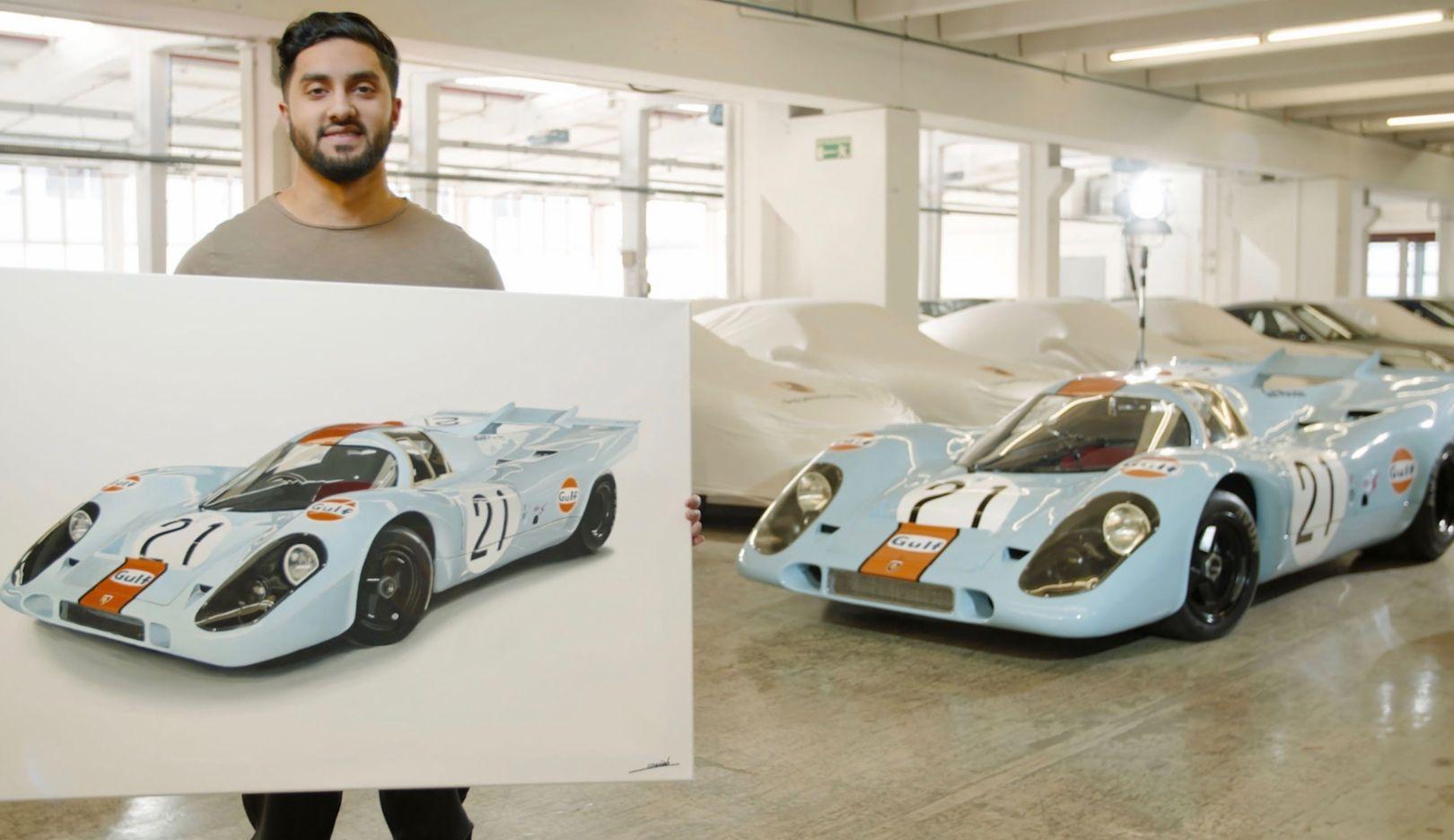Roman Miah, 917 KH Gulf, 2018, Porsche AG