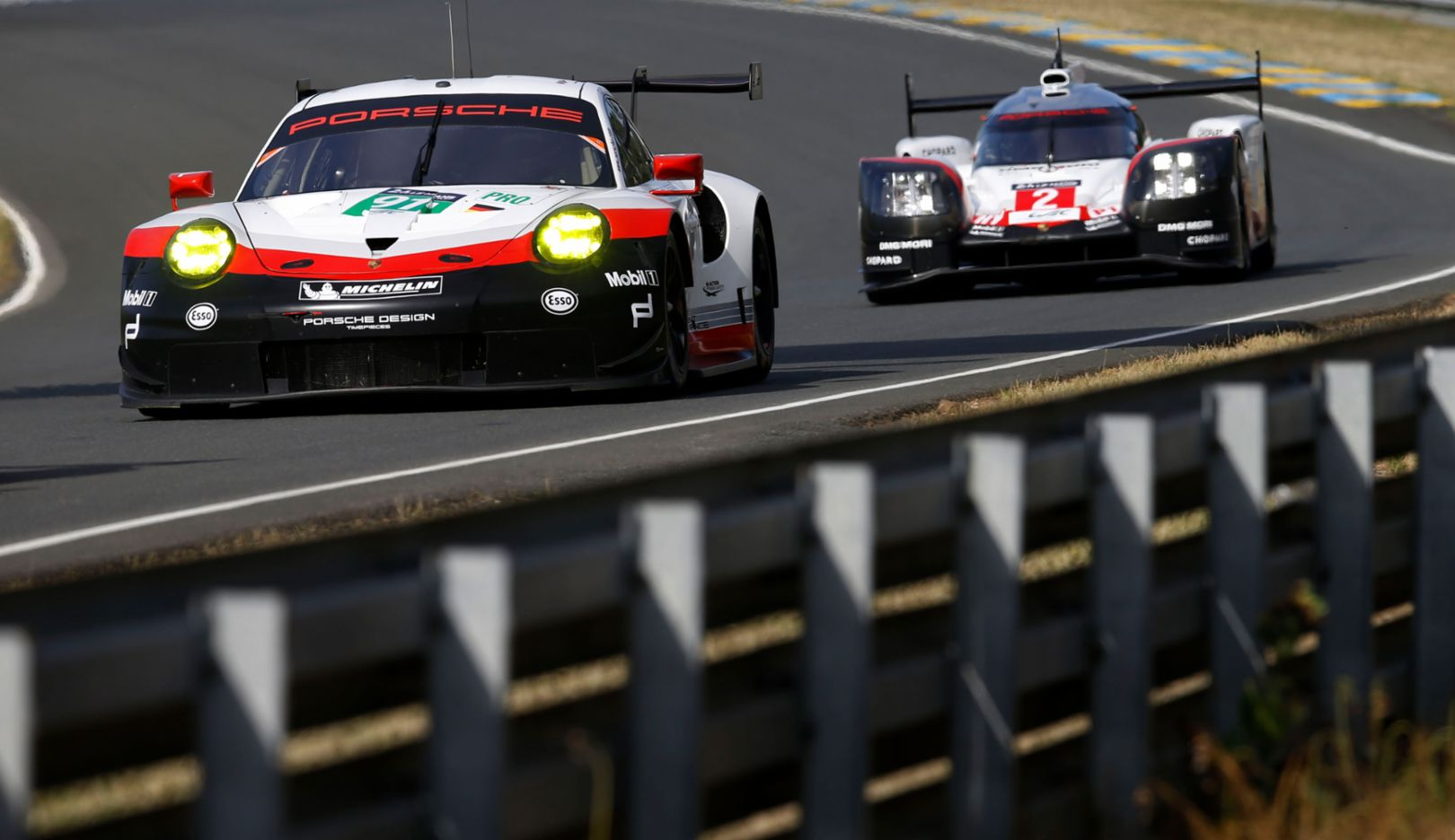911 RSR, 919 Hybrid, FIA WEC, Pre-test, Le Mans, 2017, Porsche AG