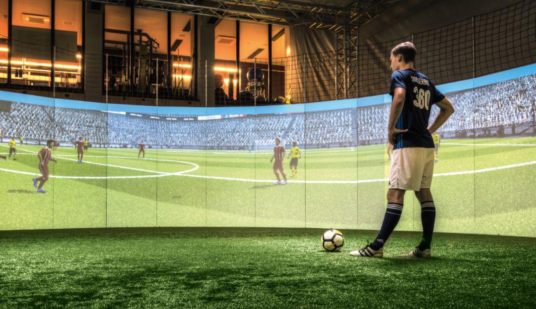 El objetivo de la ayuda al entrenamiento Soccerbot: