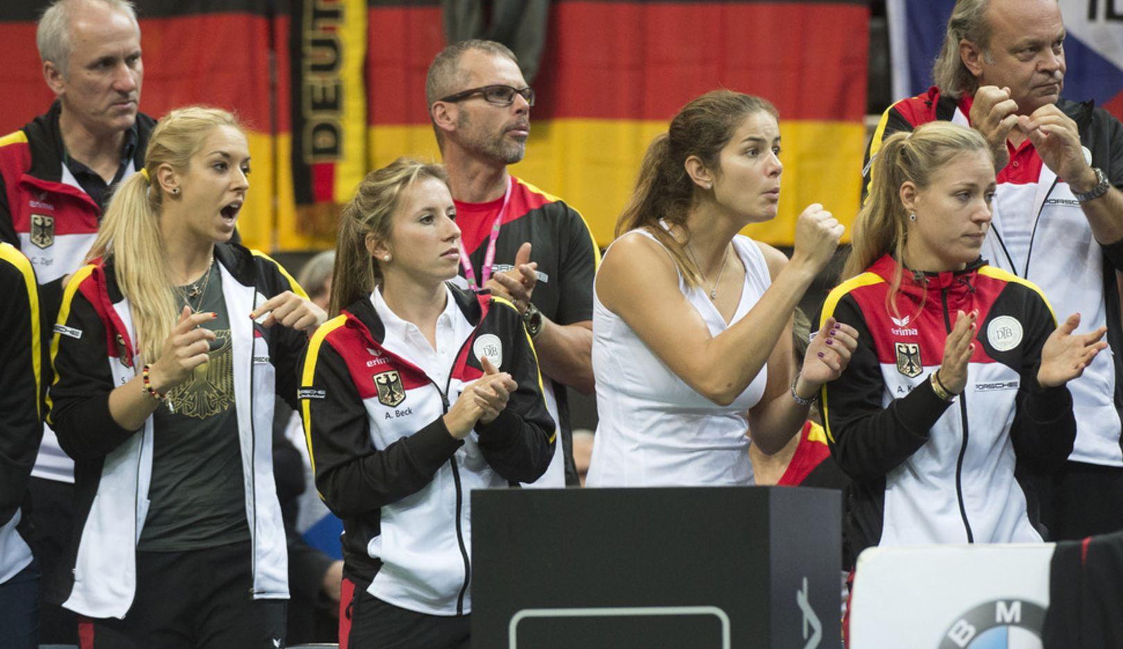 Porsche Team Deutschland, Fed Cup Finale, Prag, 2014, Porsche AG