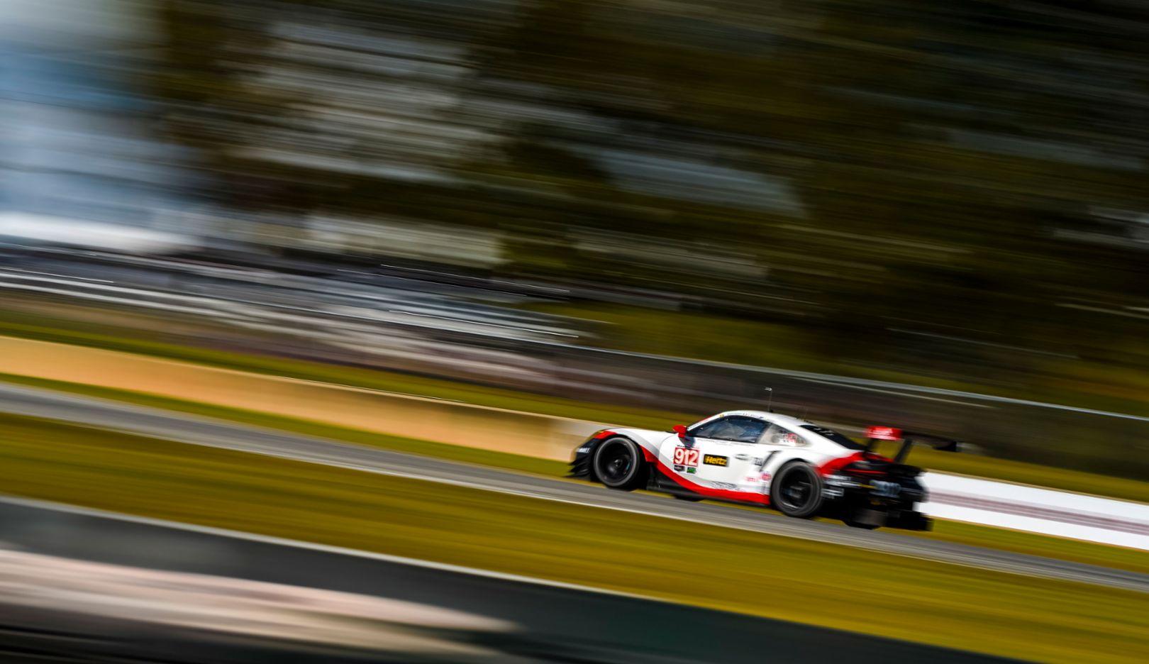 911 RSR, Porsche GT Team, Qualifying, Braselton, 2017, Porsche AG