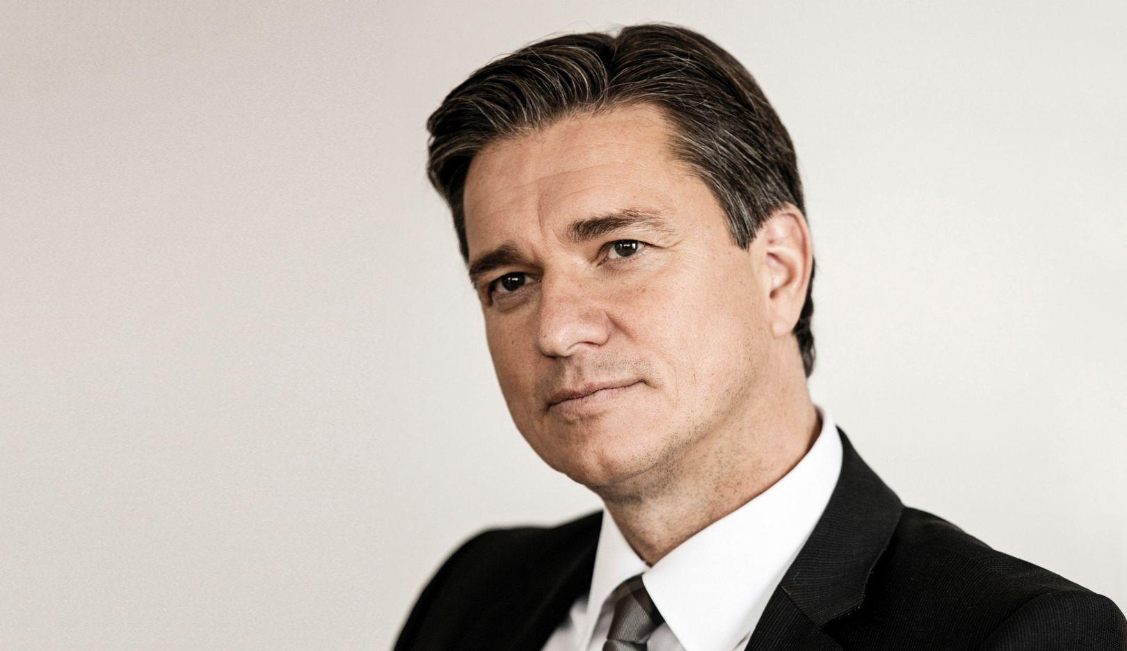 Lutz Meschke, Mitglied des Vorstandes, Finanzen und IT, 2014, Porsche AG