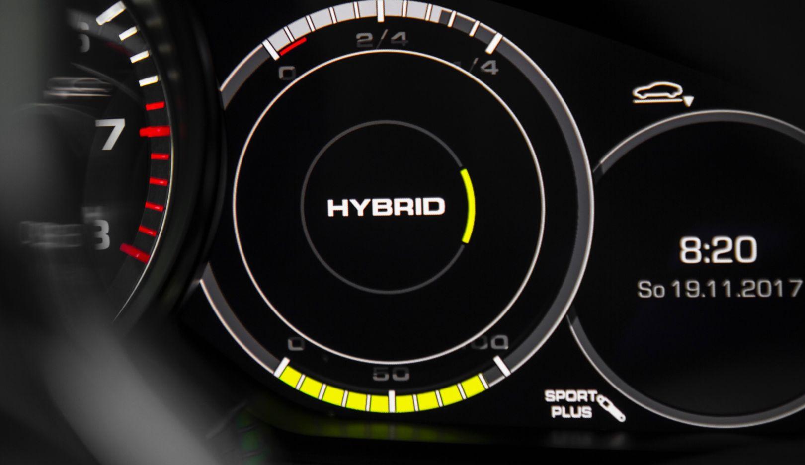 Hybrid model, 2017, Porsche AG
