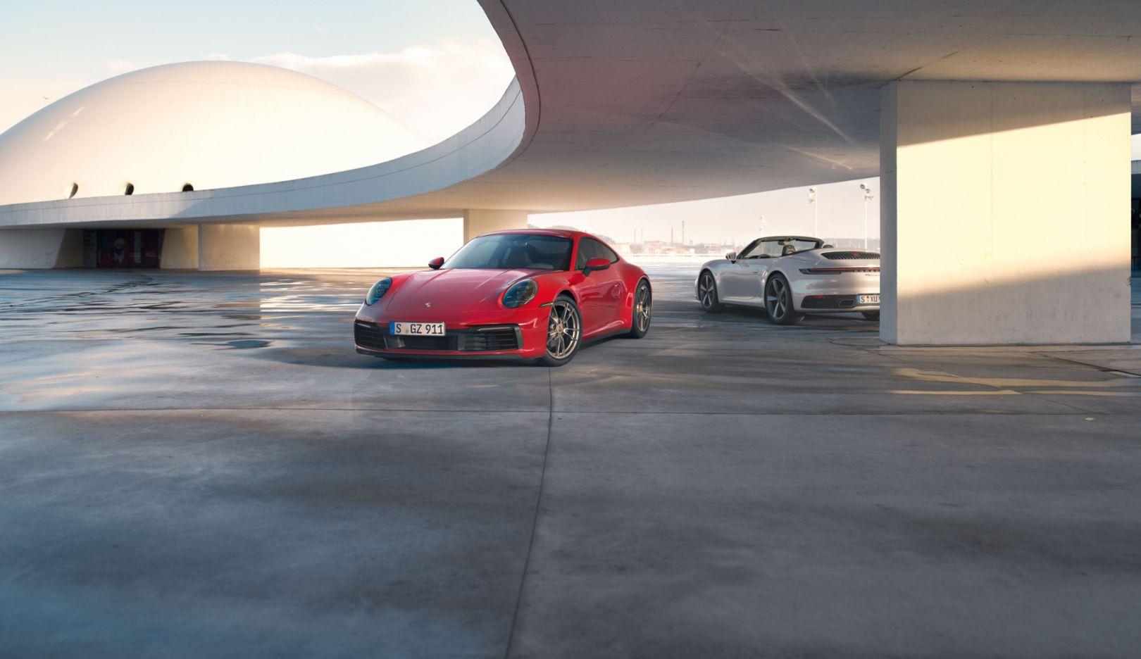 New Porsche 911 >> The All New Porsche 911 Carrera 4 Coupe And 911 Carrera 4