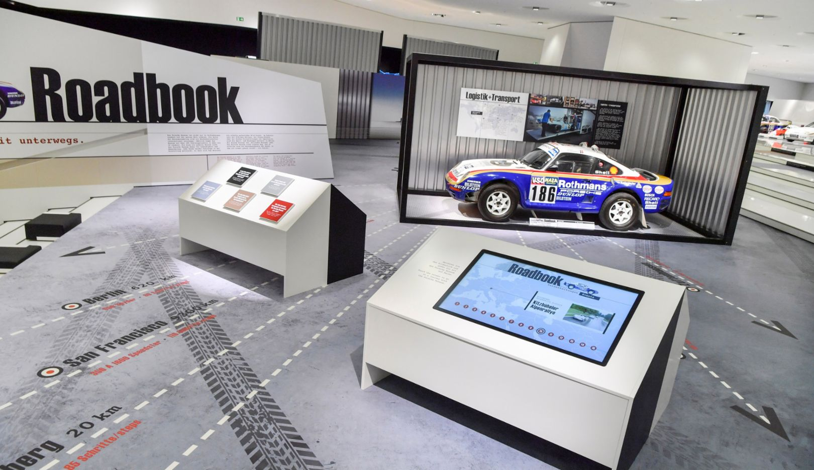 "Special exhibition ""Roadbook"", 2016, Porsche AG"