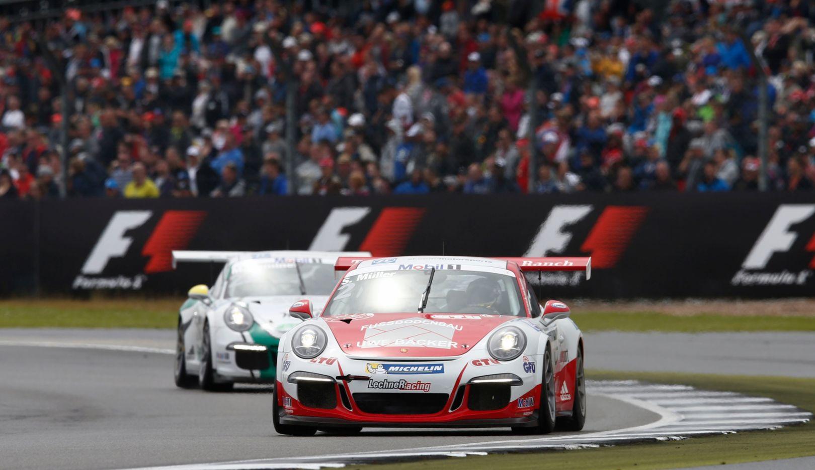 911 GT3 Cup, Porsche Mobil 1 Supercup, Silverstone, 2016, Porsche AG
