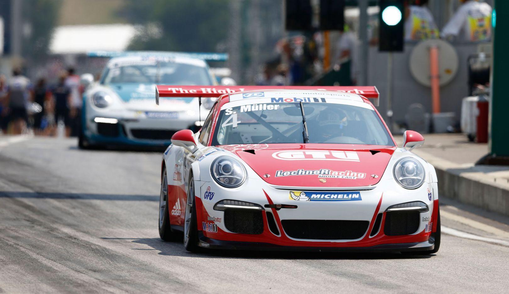 Porsche Mobil 1 Supercup, Budapest 2015, Porsche AG