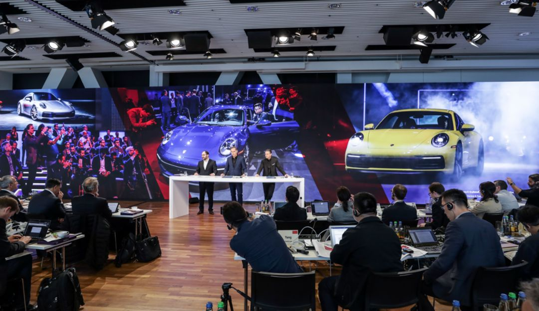 Annual Press Conference, 2019, Porsche AG