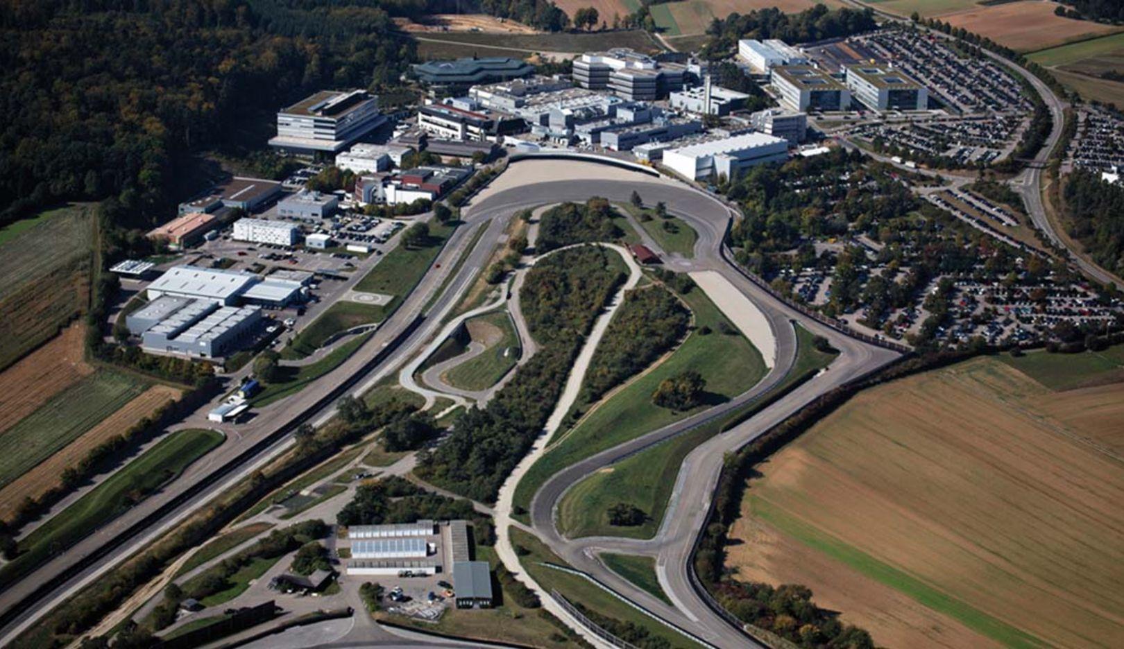Porsche Entwicklungszentrum, Weissach, 2014, Porsche AG