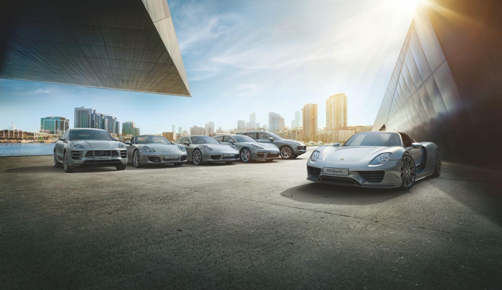 918 Spyder, Macan, Boxster, 911, Panamera, Cayenne, 2014, Porsche AG