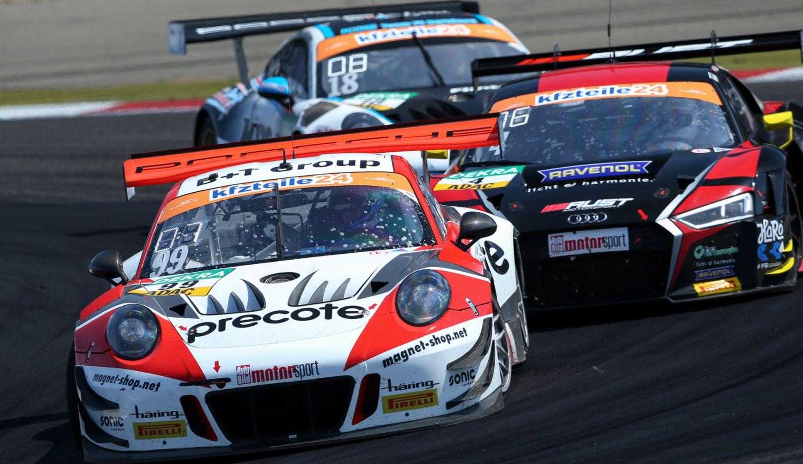 ADAC GT Masters, 8. Rennen, Nürburgring, 2018, Porsche AG