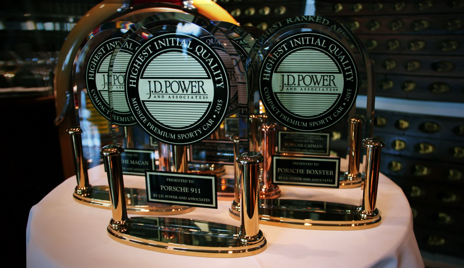 J.D. Power awards, 2016, Porsche AG