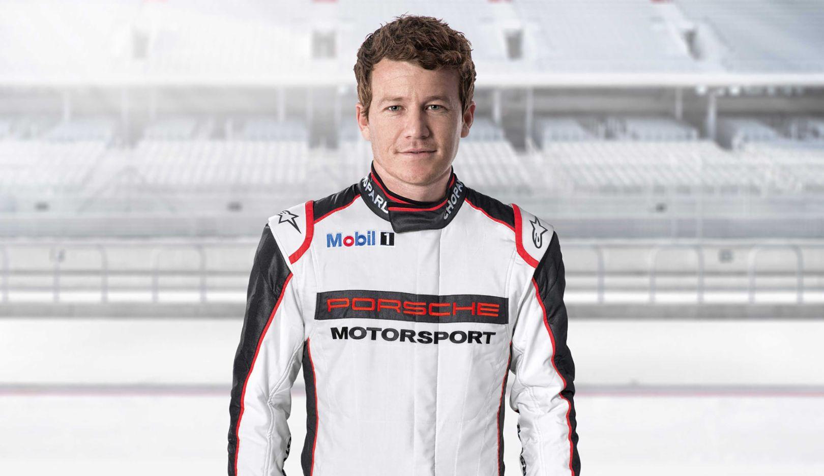 Patrick Long, Porsche factory driver, 2017, Porsche AG