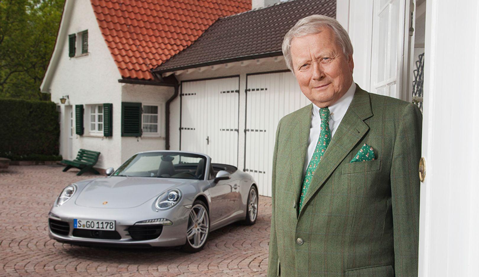 Dr. Wolfgang Porsche, Chairman of the Board, 2014, Porsche AG