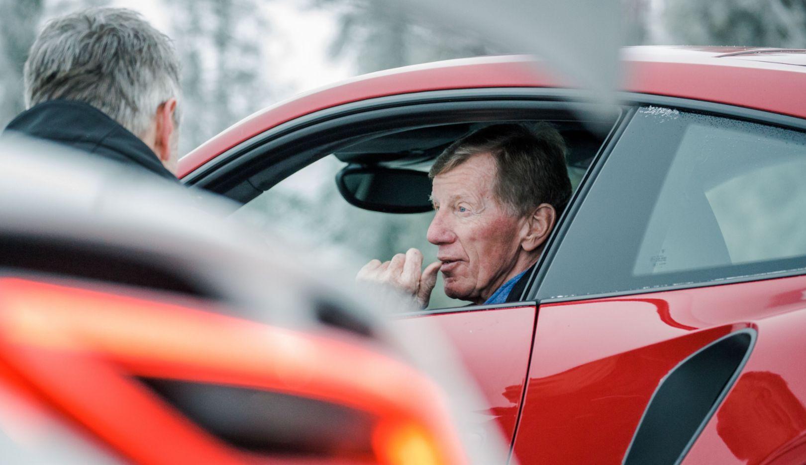 Walter Röhrl, Porsche Driving Experience Levi, Finnland, 2017, Porsche AG