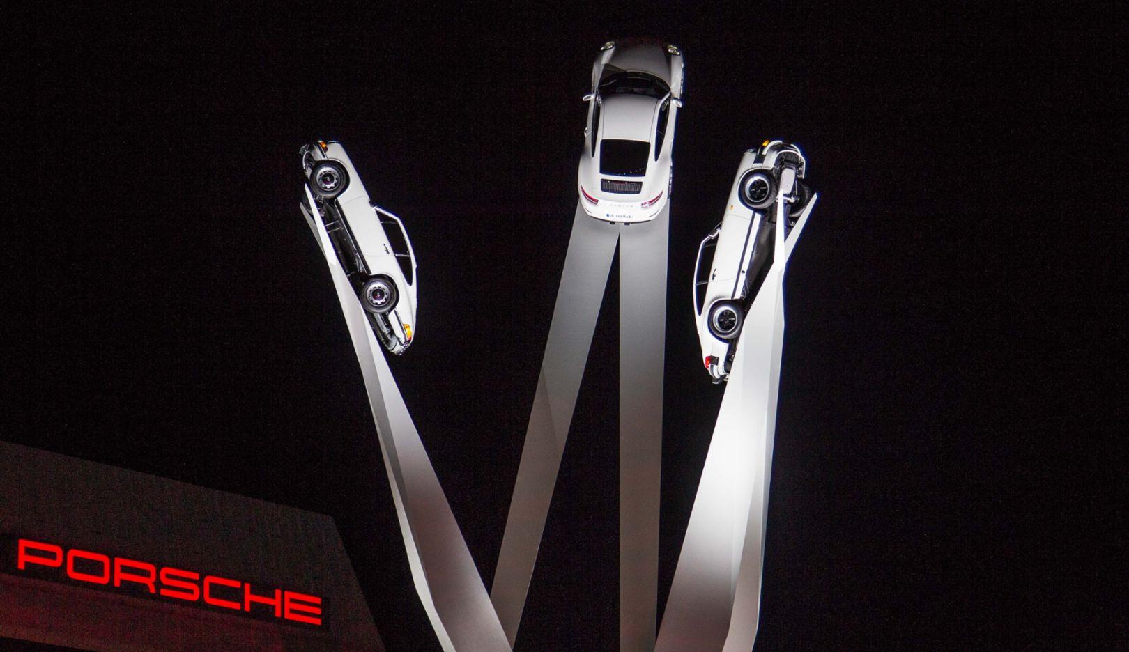 Inspiration 911, Skulptur, Zuffenhausen, 2015, Porsche AG