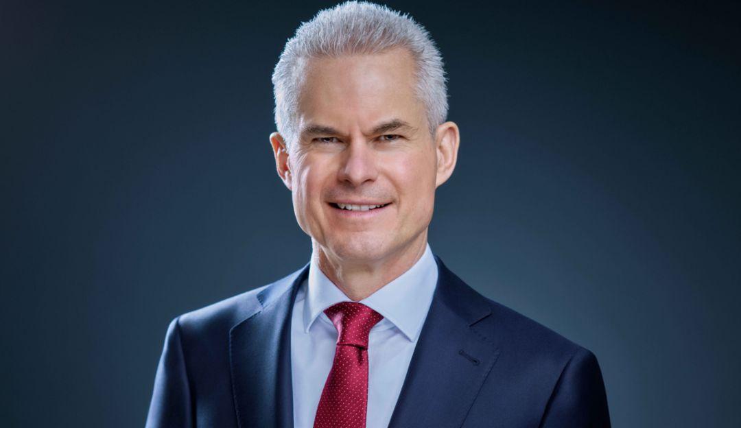 Eberhard Weiblen, Chairman of the Executive Board, 2019, Porsche AG