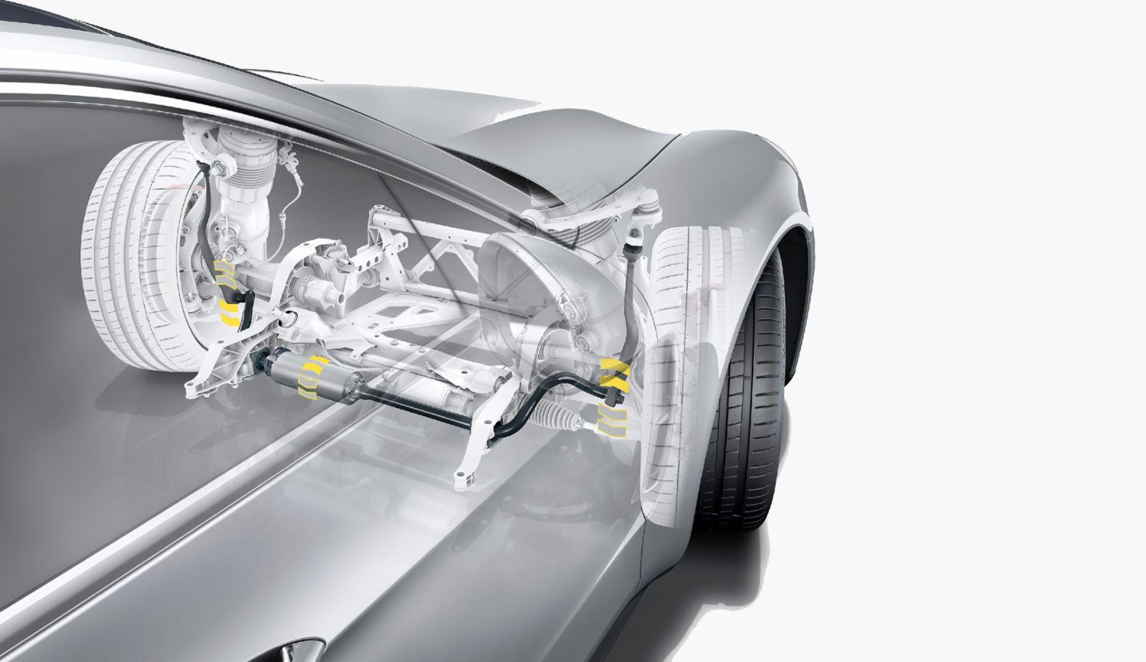 PDCC Sport-Stabilisator, Panamera, 2017, Porsche AG