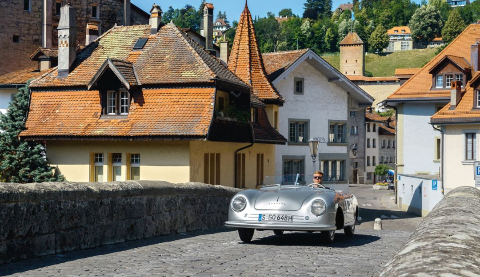 Mitten in Fribourg:
