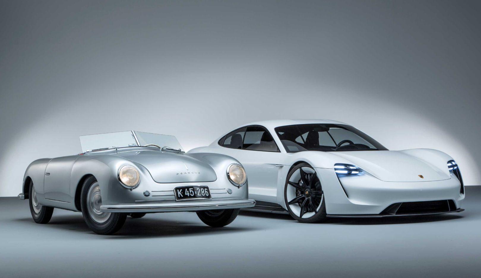 356, Mission E, l-r, 2018, Porsche AG