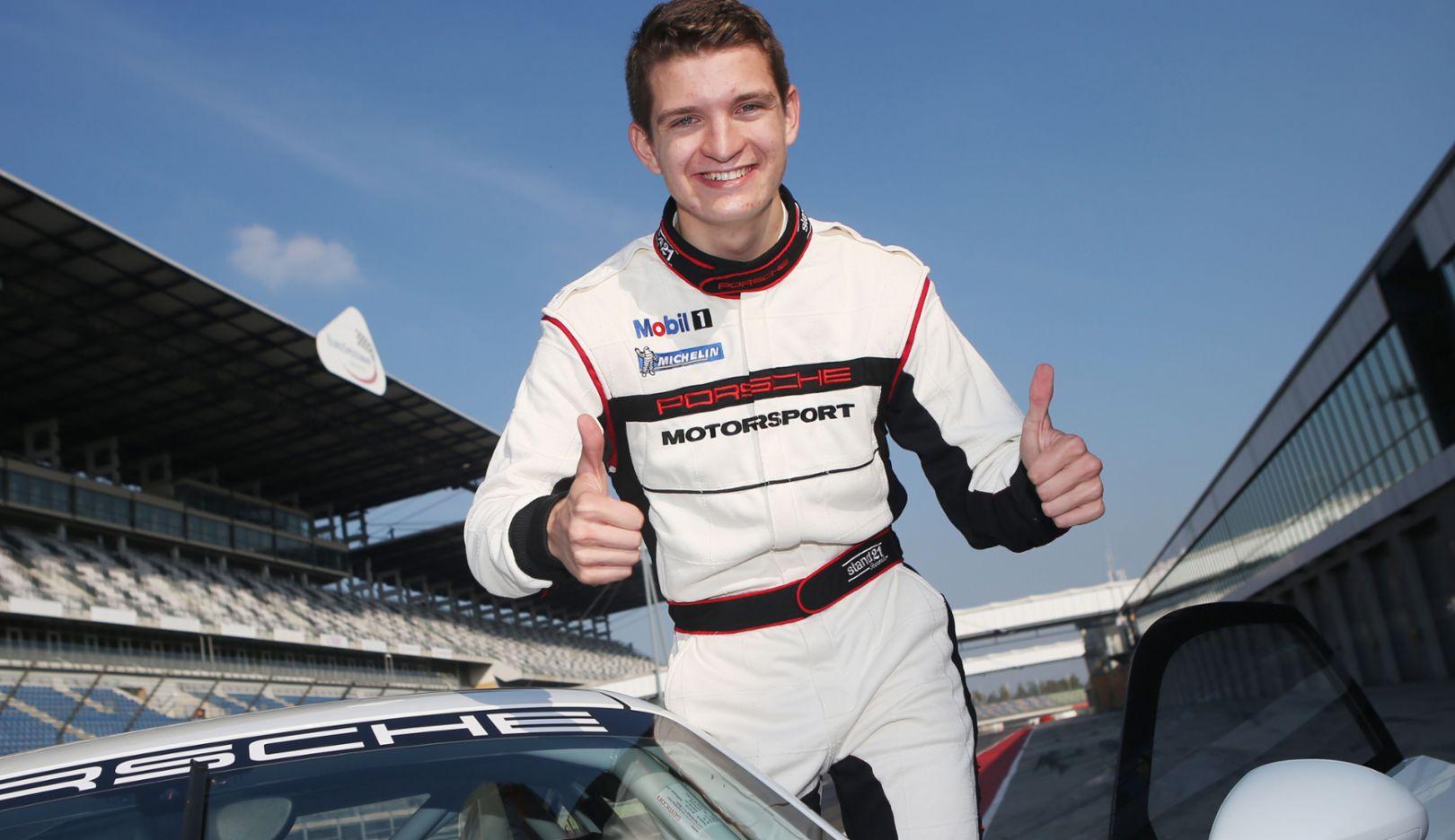 Mathieu Jaminet, Porsche-Nachwuchsfahrer 2015, Porsche AG