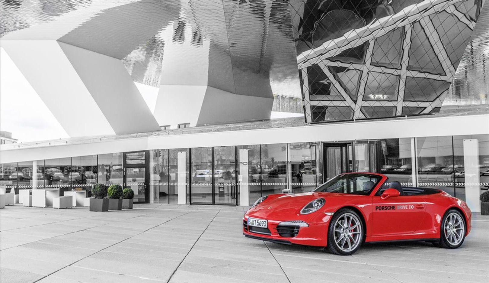 911, Porsche Drive, 2014, Porscheplatz Stuttgart, Porsche AG