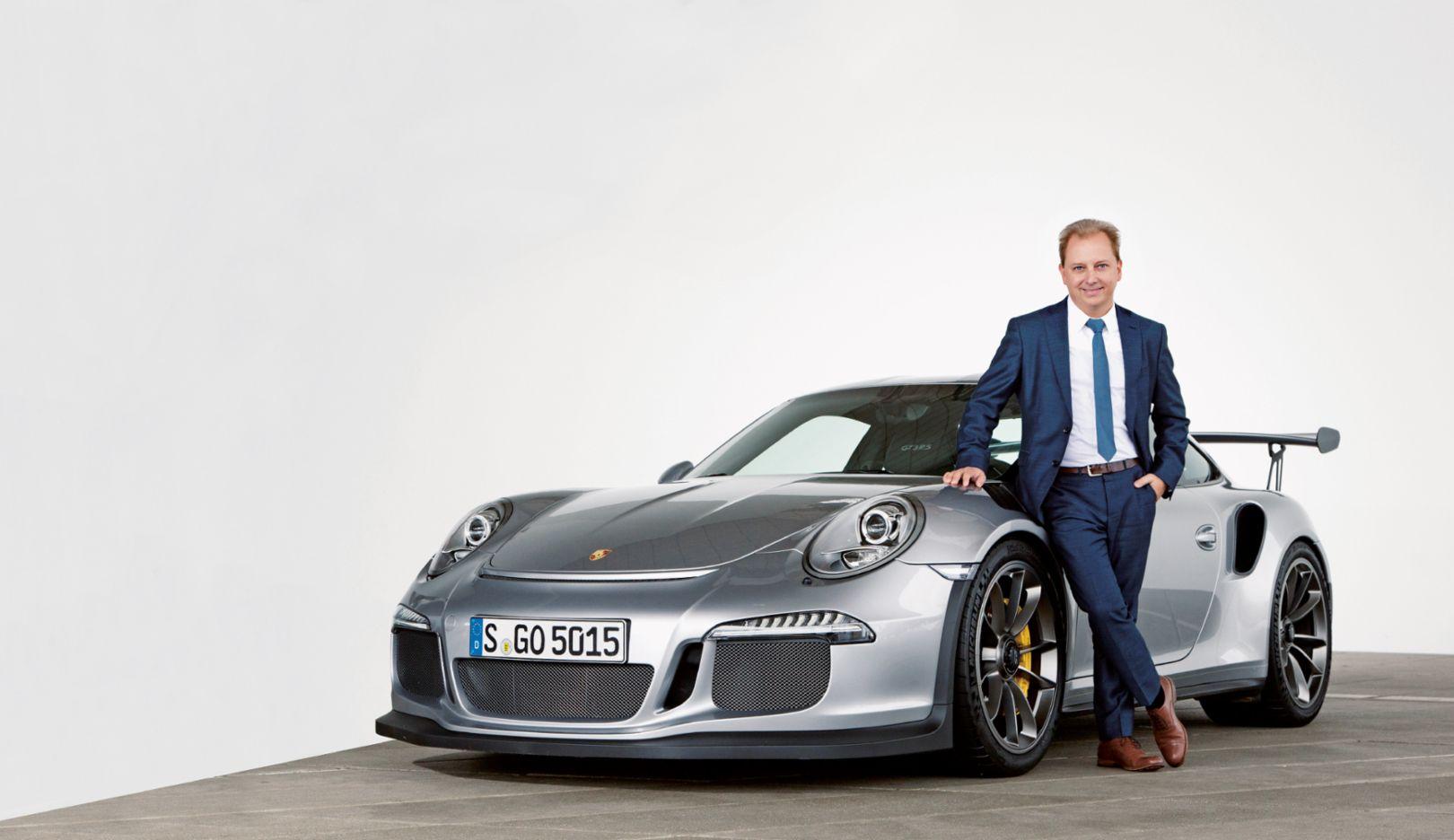 Thilo Koslowski, Porsche 911 GT3 RS, 2016, Porsche AG
