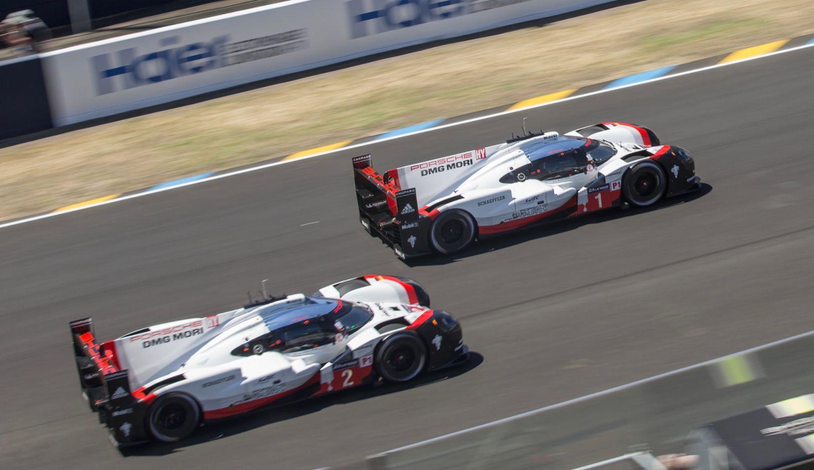 919 Hybrid, FIA WEC, Le Mans 24-Hour, Le Mans, 2017, Porsche AG