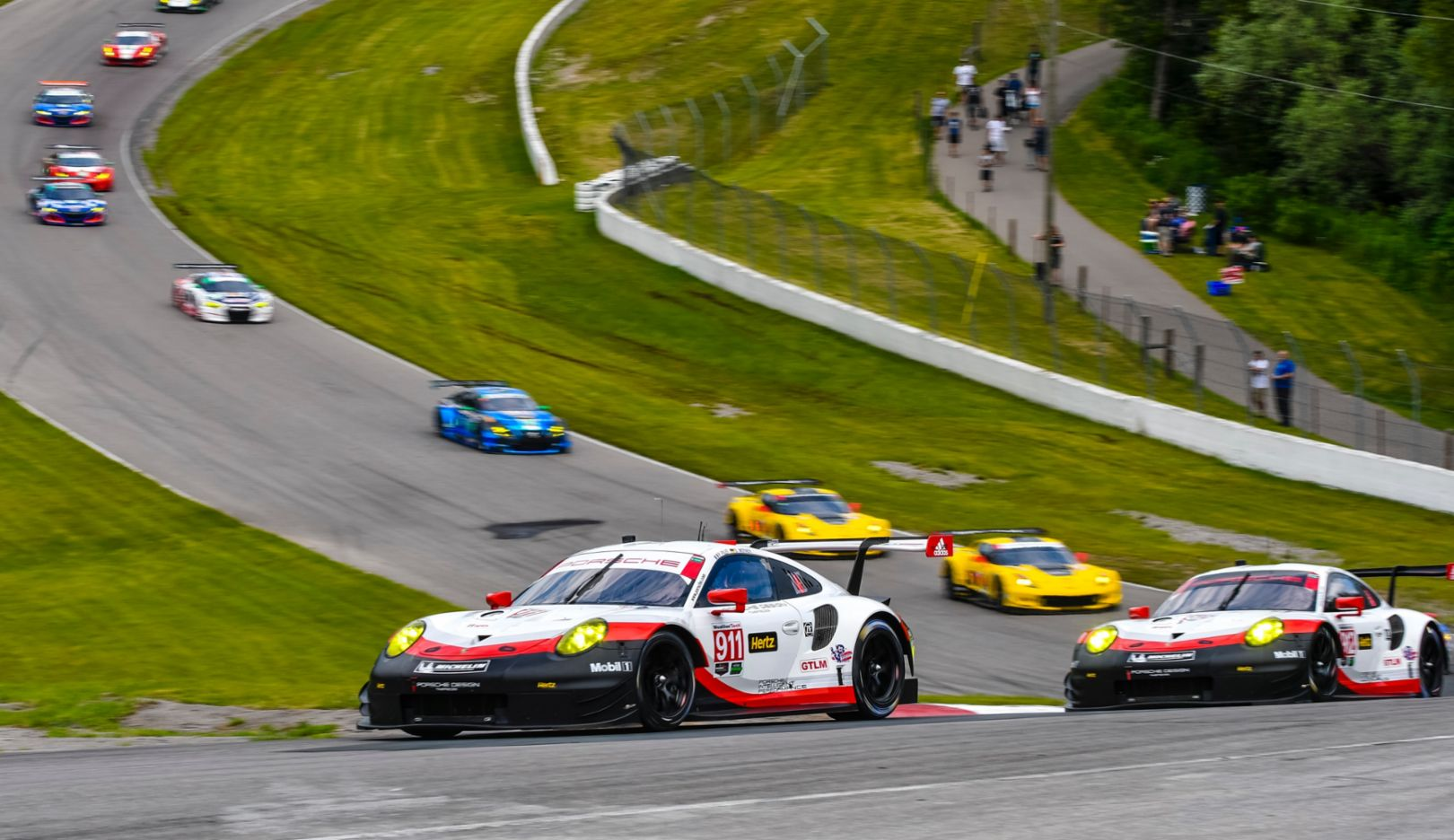 911 RSR, IMSA WeatherTech Sportscar Championship, race, Bowmanville, Canada, 2017, Porsche AG