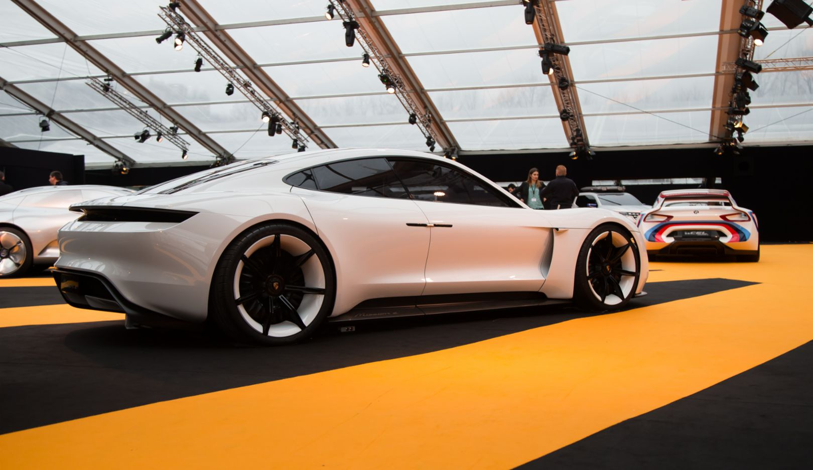Mission E, concept car, 2016, Porsche AG
