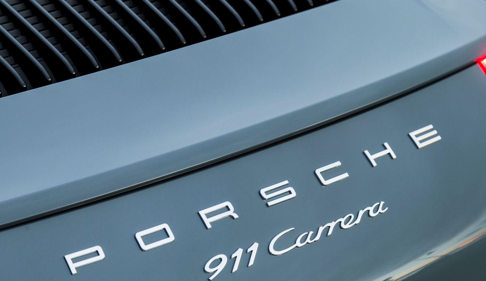 911 Carrera, Detailaufnahme, 2015, Porsche AG