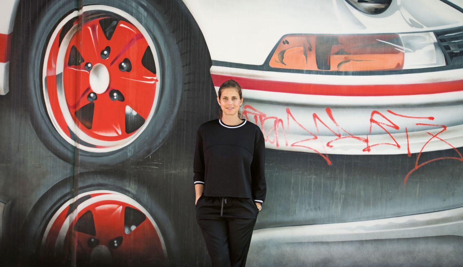 Julia Görges, Brand Ambassador, 2018, Porsche AG