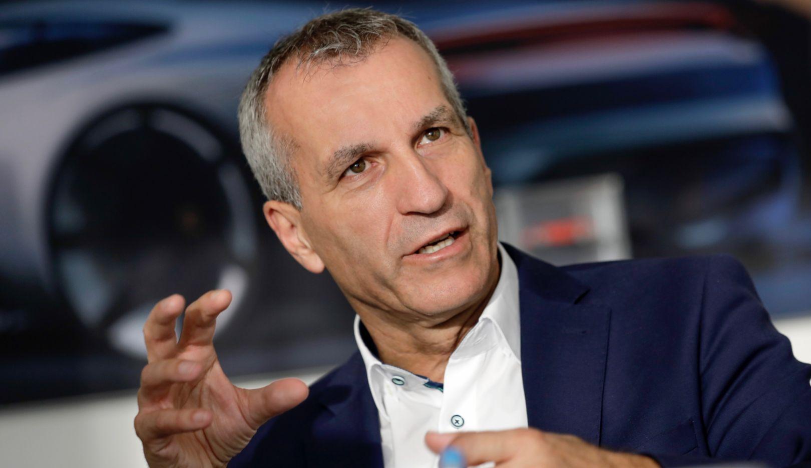 Альбрехт Реймольд, член совета директоров, ответственный за производство, 2019, Porsche AG