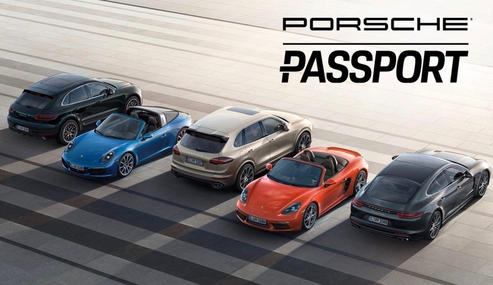 Porsche Passport, 2017, Porsche AG