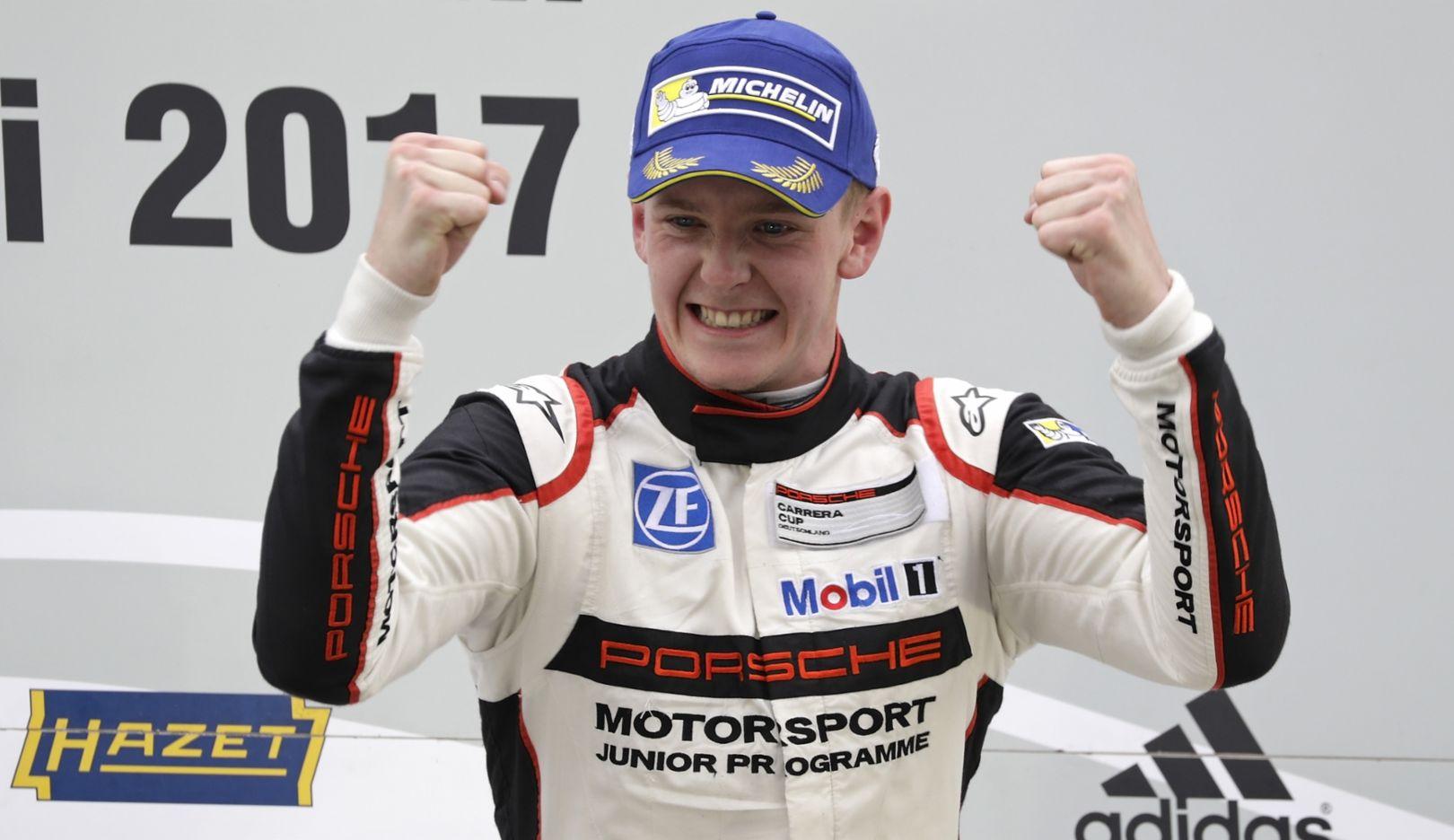 Dennis Olsen, Porsche Carrera Cup Deutschland, Hockenheimring, 2017, Porsche AG