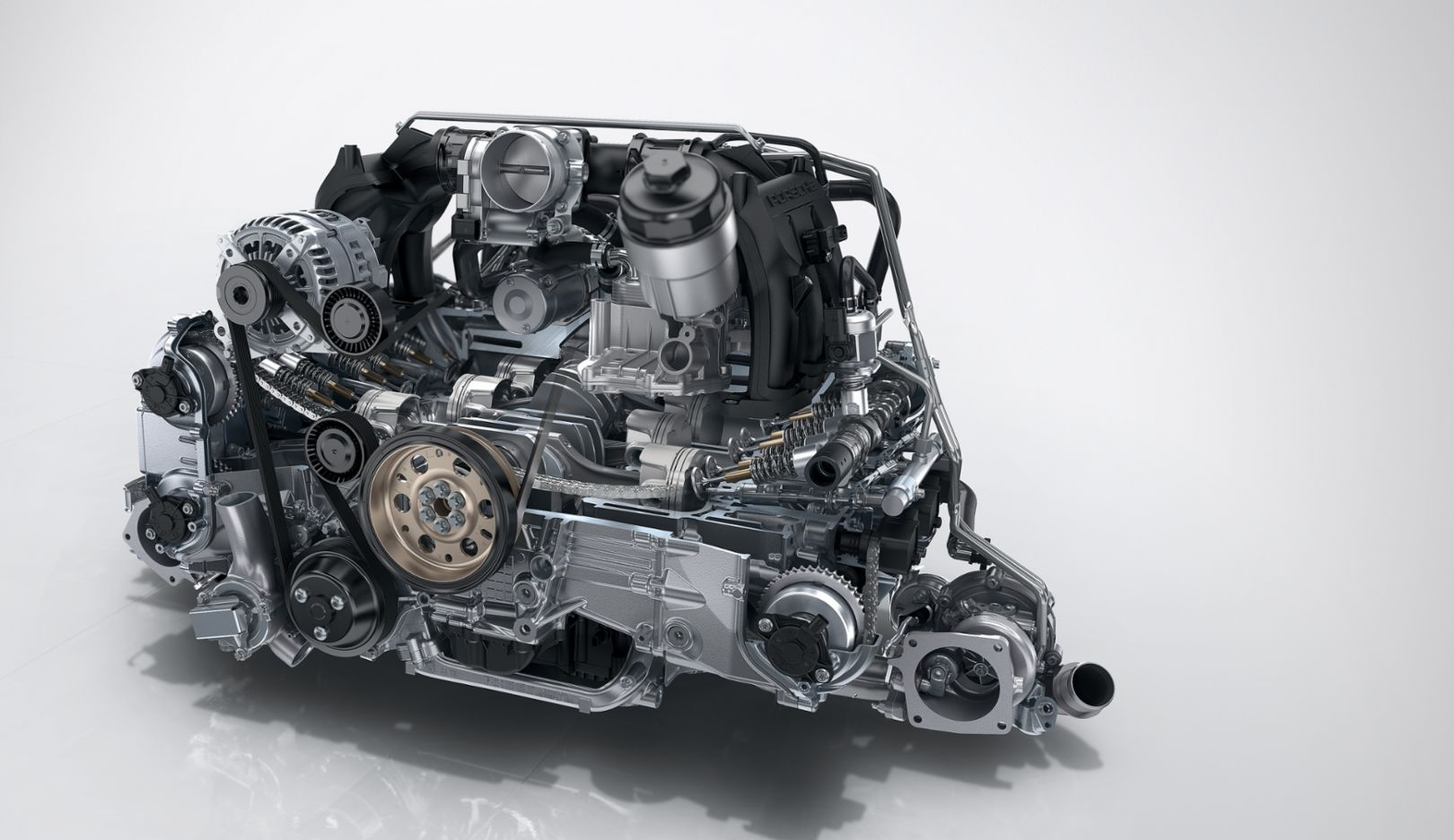 Turbo engine, 2015, Porsche AG