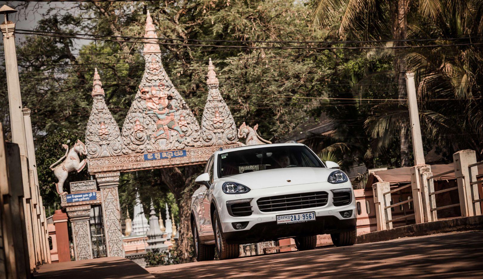 Cayenne, Porsche Adventure Drive, Cambodia, 2016, Porsche AG