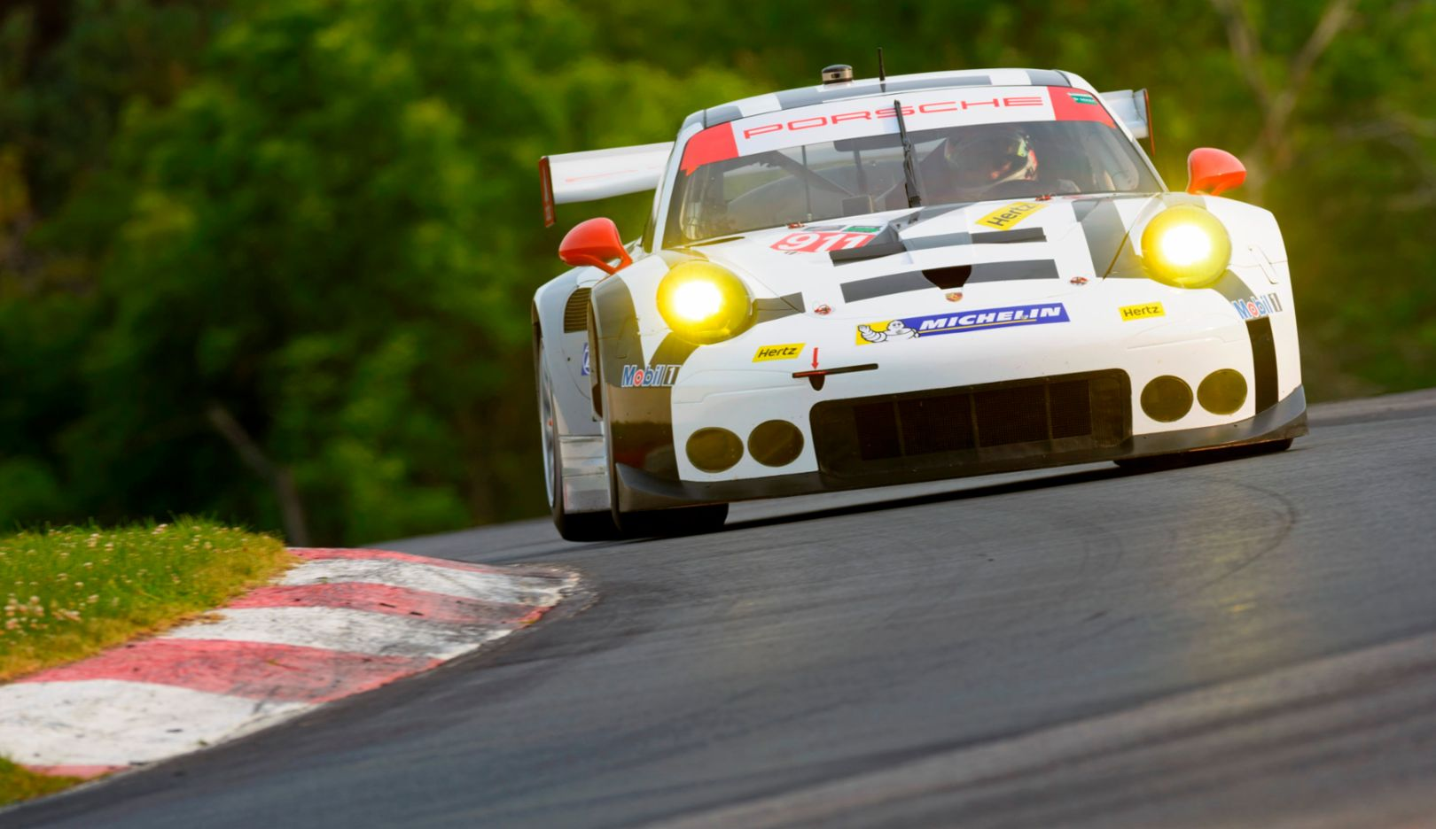 Porsche North America: Patrick Pilet, Nick Tandy, Porsche 911 RSR, Bowmanville 2015, Porsche AG