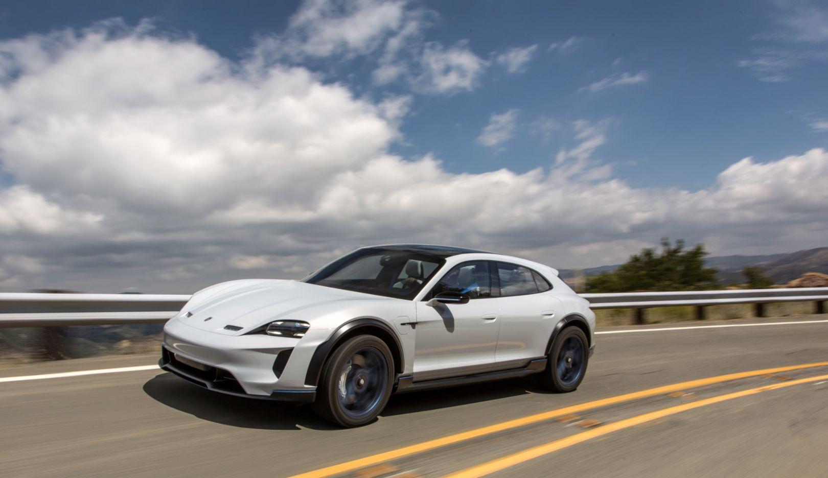 Porsche Mission E Cross Turismo, 2018, Porsche AG