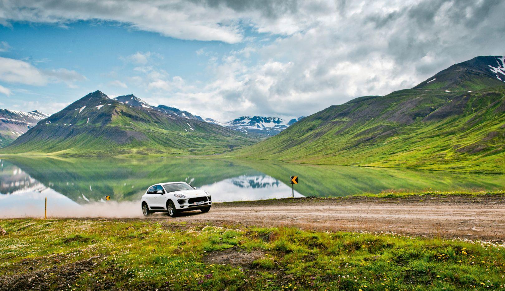 Porsche Macan S Diesel, Island, 2016, Porsche AG