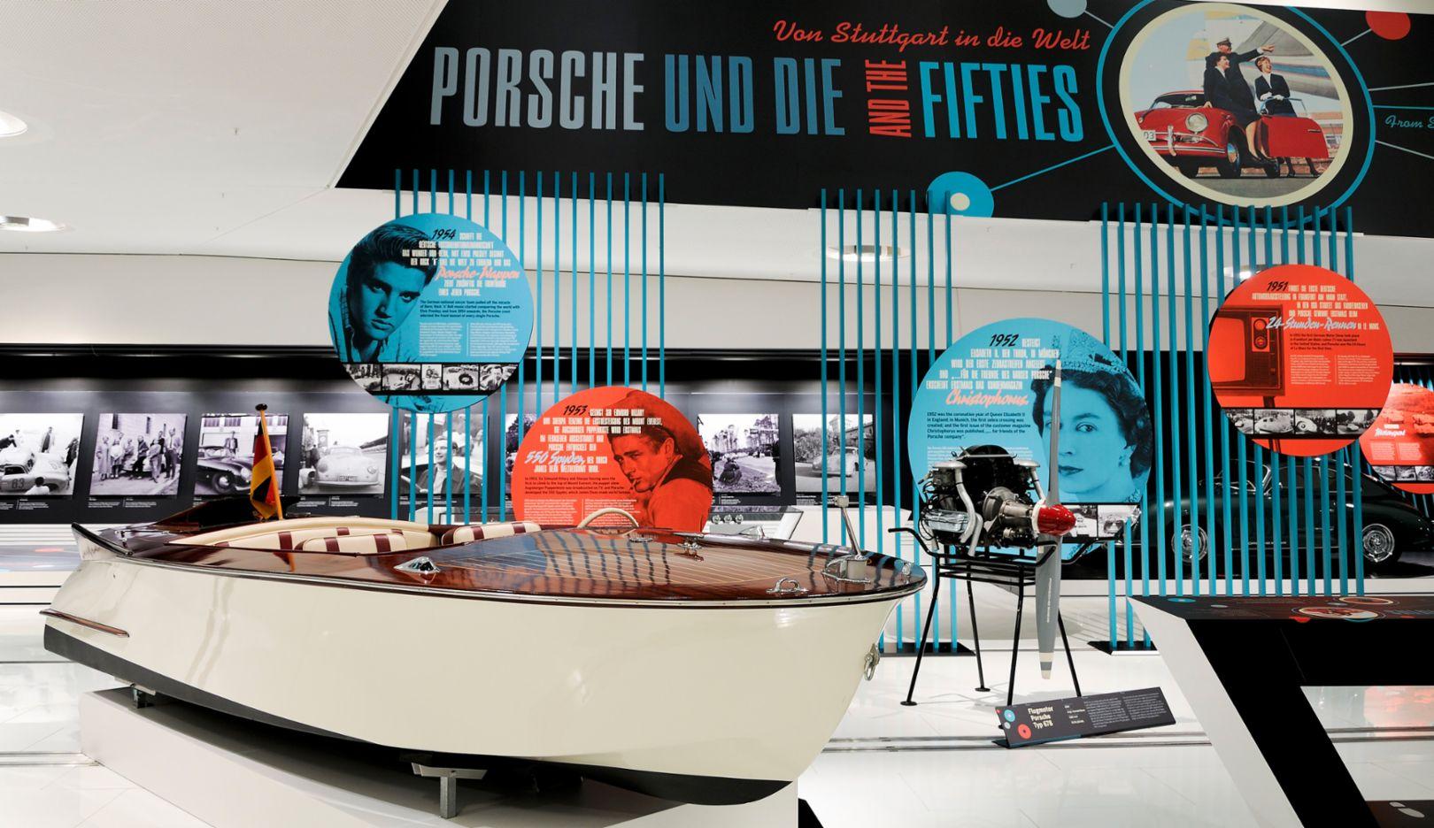 Porsche und die Fifties. Von Stuttgart in die Welt, Sonderausstellung Porsche Museum, Zuffenhausen, 2015, Porsche AG